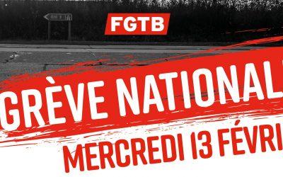 13/02/2019 Grève générale